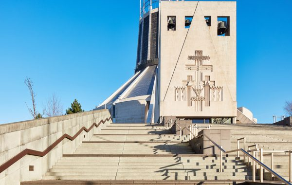Liverpool Metropolitan Cathedral Steps Precinct