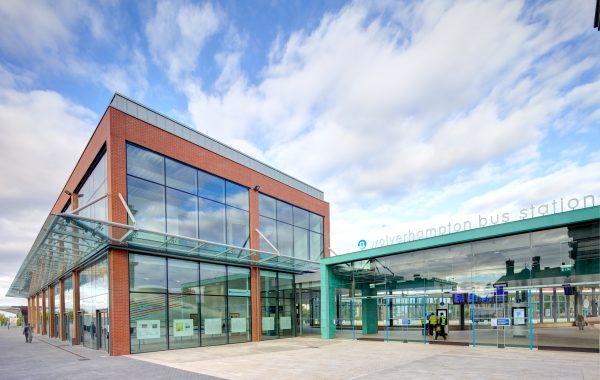 Wolverhampton Interchange Bus Station